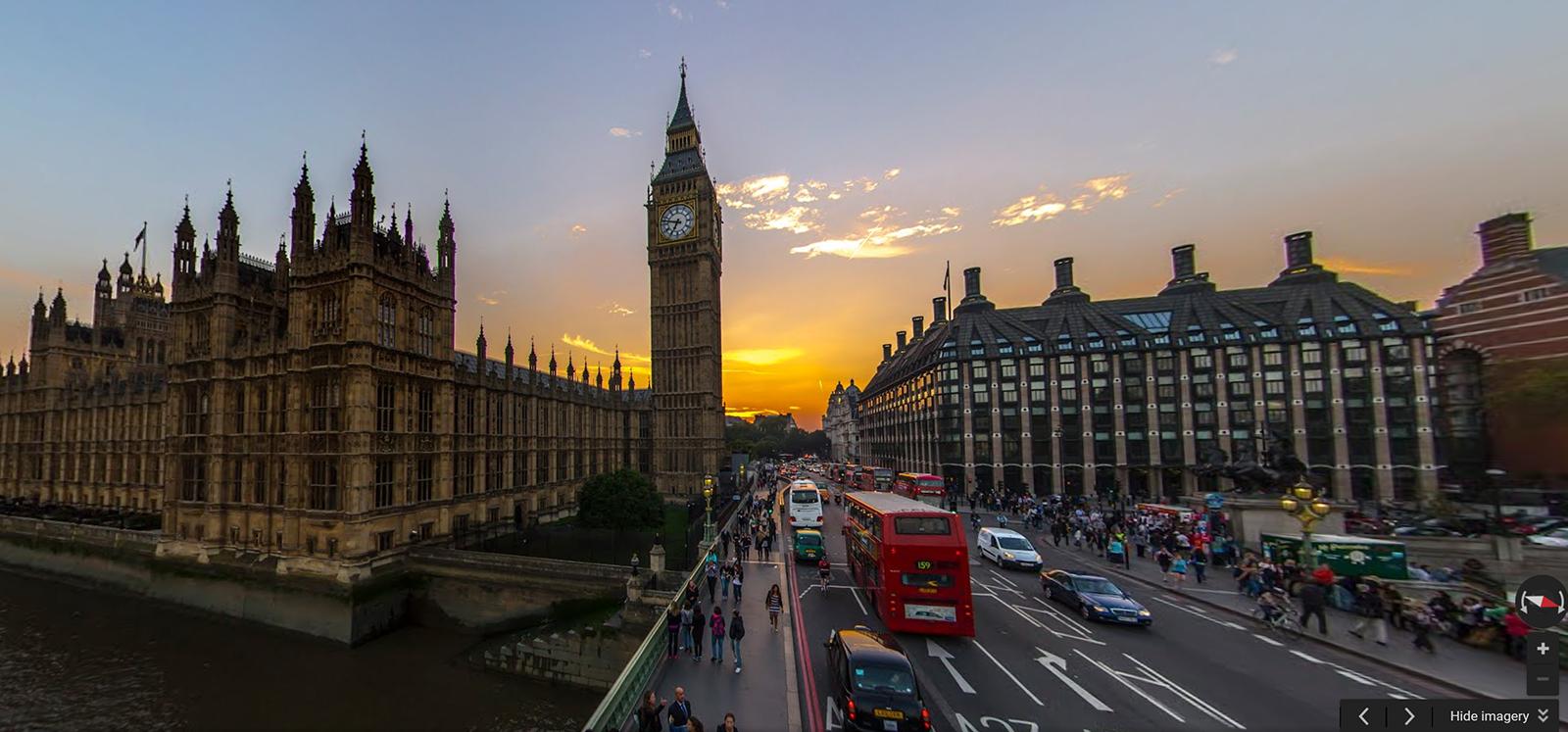 London streetview photosphere